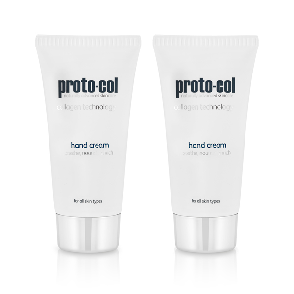 Proto-col Coral and Collagen Hand Cream Twinpack No Colour