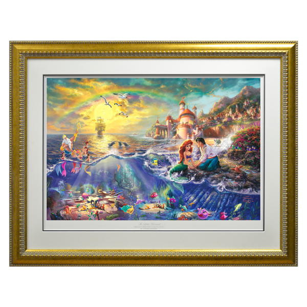 The Little Mermaid limited Edition Print No Colour