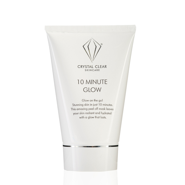 Crystal Clear 10 Min Glow Peel Off Mask 100ml No Colour