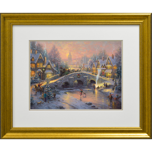 Thomas Kinkade Spirit Of Christmas No Colour