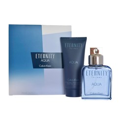 Calvin Klein Eternity Aqua Homme EDT Spray 100ml After Shave Balm 100ml