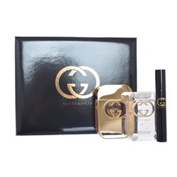 Gucci Guilty Femme EDT Spray 75ml  EDT Spray 7.4ml  Shower Gel 100ml