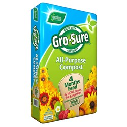 Gro-Sure All-Purpose Compost with 4 Month Feed 10L