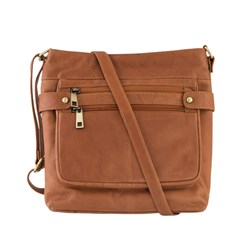 Woodland Leather Cross Body Bag