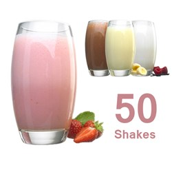 Weight to Go! 50 Shakes for 50 Pounds!