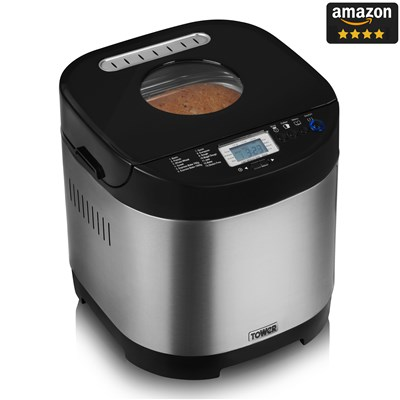 Tower Glutenfree Digital Bread Maker - S/Steel