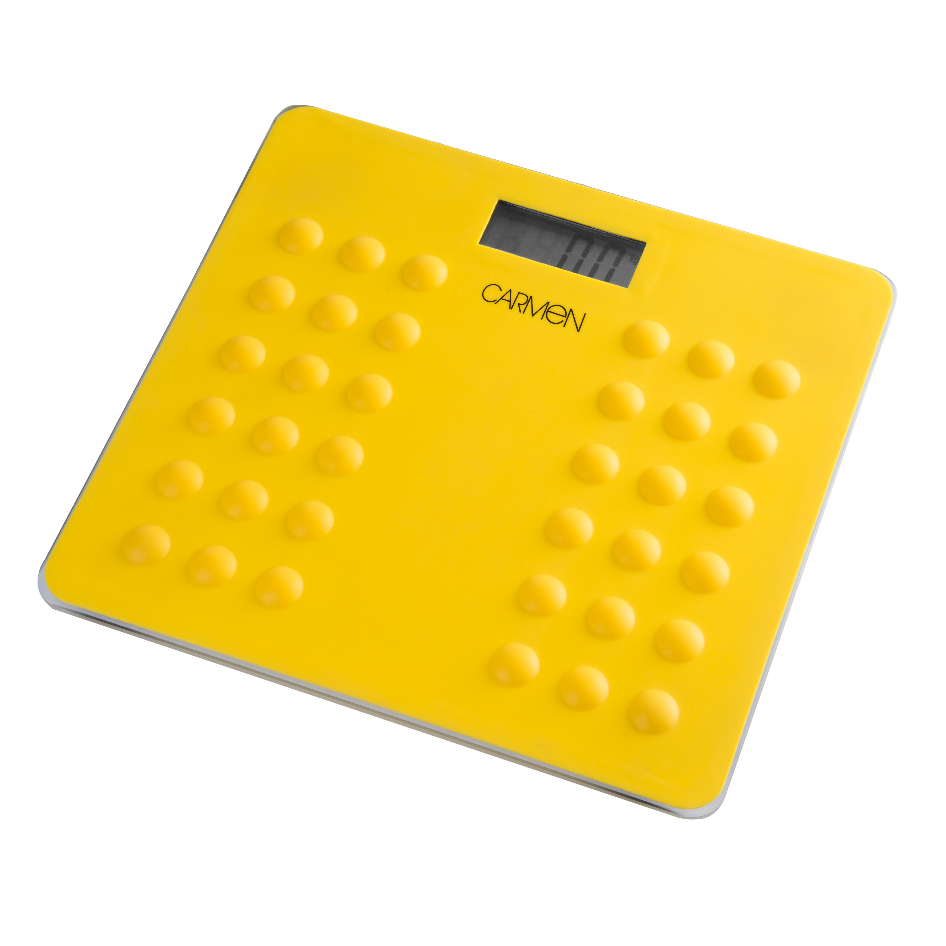 Carmen Electronic Personal Scale - Yellow No Colour
