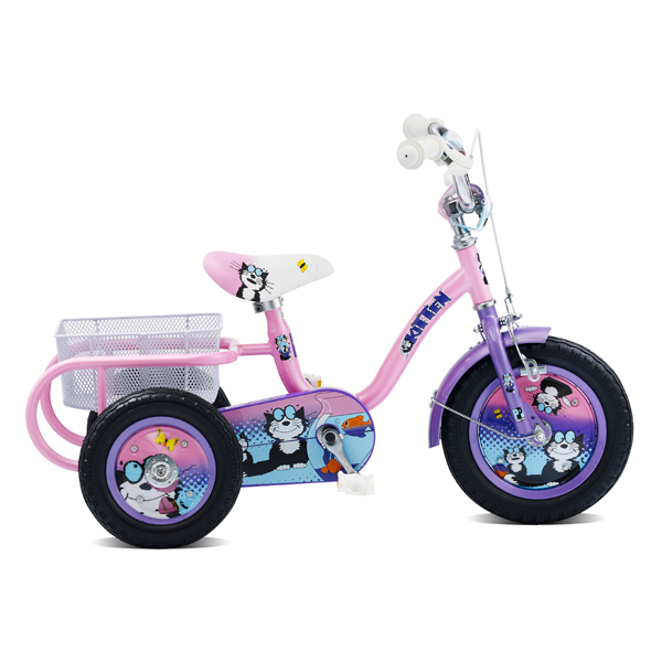 Pedal Pals Kitten 12inch Girls Tricycle No Colour