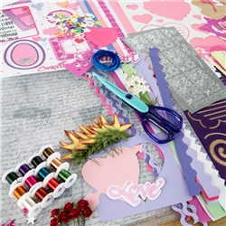 Bumper Embellishment Selection including Die Cuts and Punches