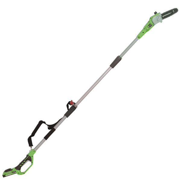 Greenworks 24V Pole Pruner with Battery No Colour
