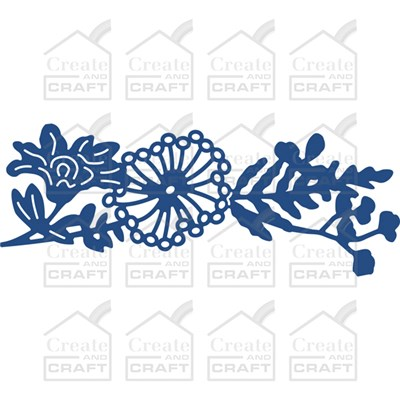 Tattered Lace Floral Flourish Bouquet Die