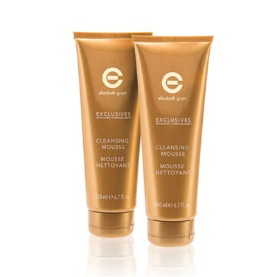 Elizabeth Grant Exclusives Cleansing Mousse 200ml Twinpack