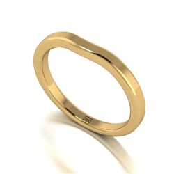 Lady Lynsey 9ct Gold Wishbone Ring