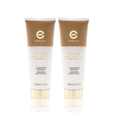 Elizabeth Grant Supreme Cleansing Mousse 200ml Twinpack