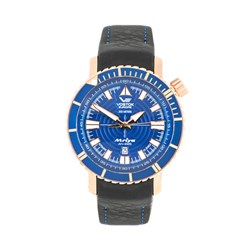 Vostok Europe Gents Mriya Automatic Watch with Interchangeable Genuine Leather and Silicone Strap in a Dry Box