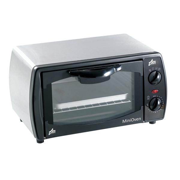 Mini Oven in Stainless Steel - 9 Litre