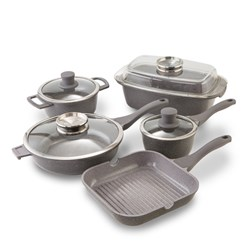 Tower 7 Piece Pro Cerastone Diecast Pan Set with 10 Year Guarantee