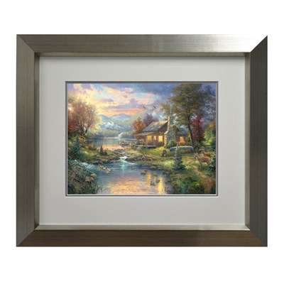 Thomas Kinkade Natures Paradise Open Edition Print