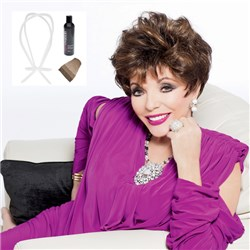 Alexis Wig by Joan Collins with Bonus Revitaliser and Wig Stand Plus Cap