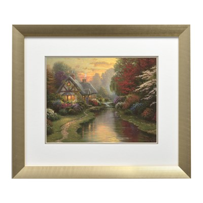 Thomas Kinkade A Quiet Evening Open Edition