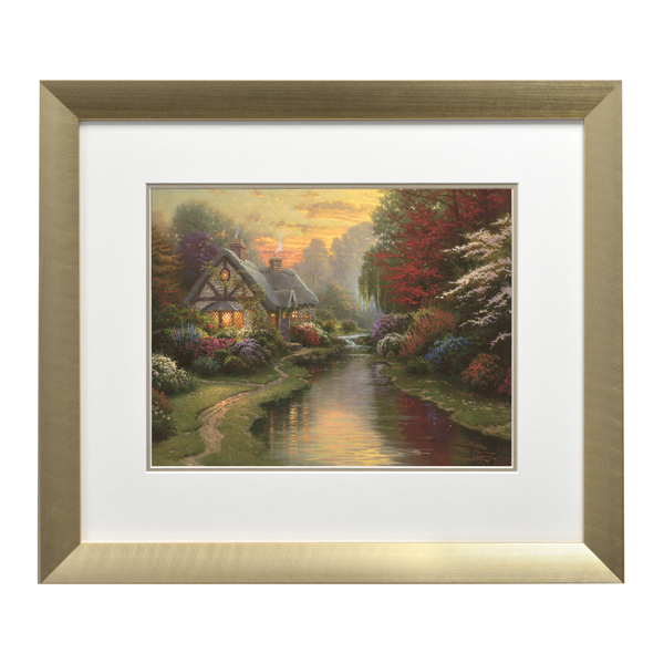 Thomas Kinkade A Quiet Evening Open Edition Modern