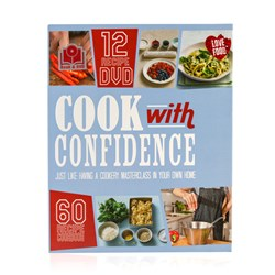 Cook with Confidence Book and DVD