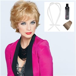 India Wig by Joan Collins with Bonus Revitaliser and Wig Stand Plus Cap