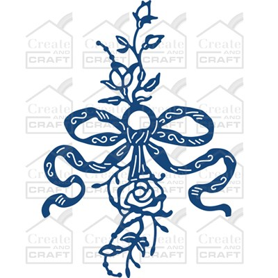Tattered Lace Flower Embellishment Die