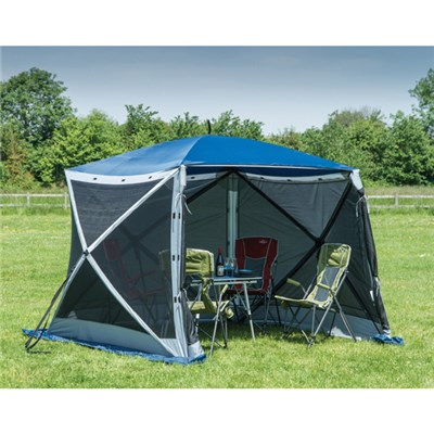 Quest Elite Instant Spring Up 4 Sided Gazebo