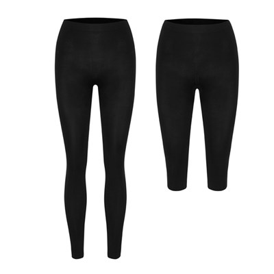 Bella Bodies Twin Pack Leggings Ankle and Capri