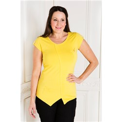 Nygard Slims Asymmetric Top