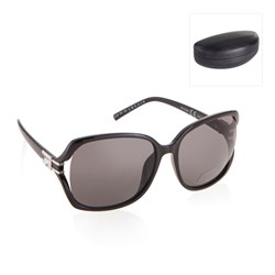 Sunglasses with Hard Case and Carry Pouch