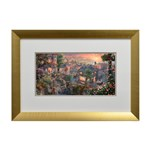 Thomas Kinkade Lady and the Tramp Open Edition Print