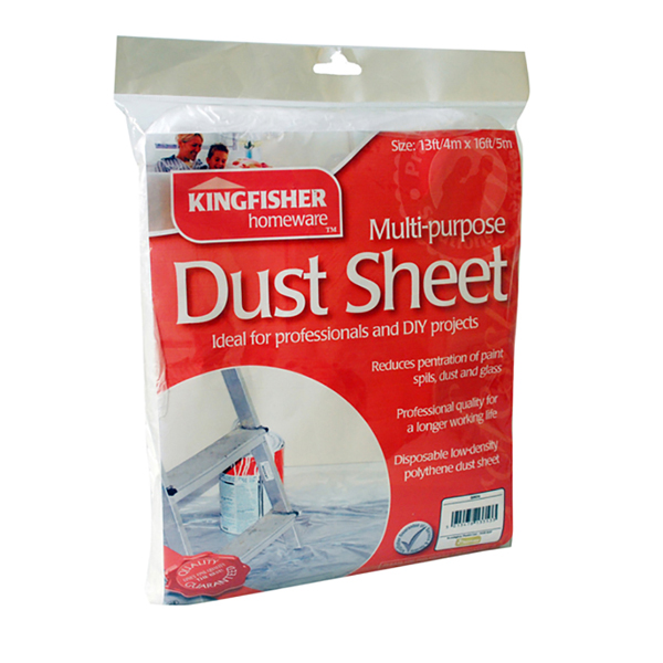 1 x Dust Sheet No Colour