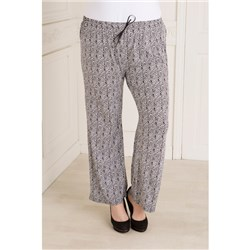 Kurt Muller Print Wide Leg Trousers