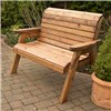Charles Taylor Traditional 2 Seater Bench