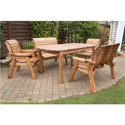 Charles Taylor Rectangular Table and 6 Chairs