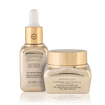 Elizabeth Grant Supreme Cell Vitality Repair Eye Kit - Eye Repair Serum 30ml and Eye Repair Gel 30ml