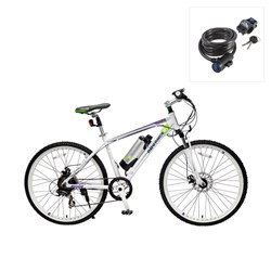 Viking E-Advance Electric Mountain Bike with FREE Lock