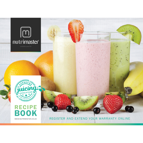 Image of Nutrimaster Recipe Book 341857