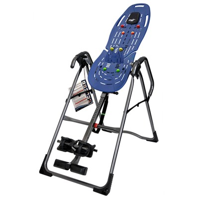 Teeter Hang Ups EP-860 Inversion Table with FREE Acupressure Nodes, Lumbar Bridge and Excercise Guide