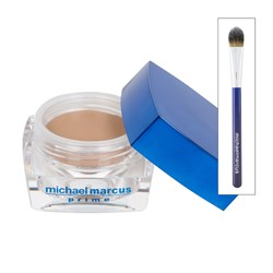 Michael Marcus Tinted Make-Up Primer 15ml and Brush