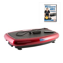 Vibrapower Slim with Resistance Bands plus FREE Vibrapower Slim DVD