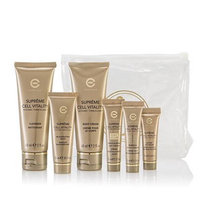 Elizabeth Grant Supreme Cell Vitality 6 Piece Gift Kit with Cosmetic Bag