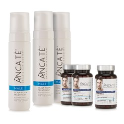 ANCA TE Healthy Hair Growth Kit - Male 3 Month Programme