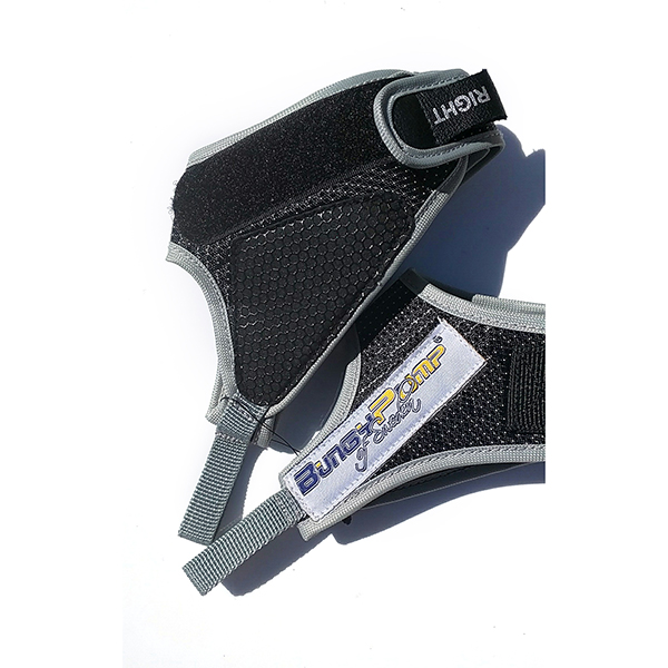 Pair of BungyPump Gloves and Straps No Colour