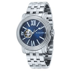 James McCabe Gents Victory Automatic Watch with Stainless Steel Bracelet Strap