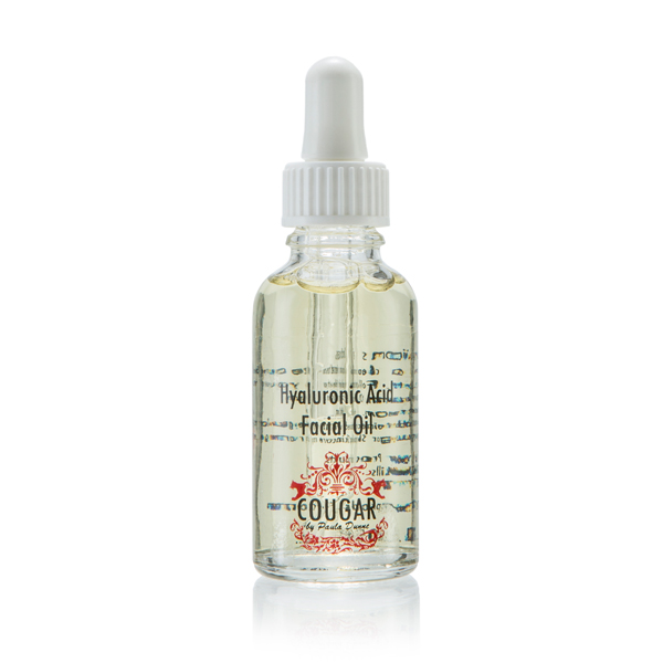 Cougar Hyaluronic Acid Facial Oil 30ml No Colour