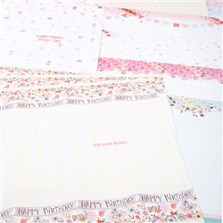 Hunkydory Boutique Chic Luxury Inserts for Cards