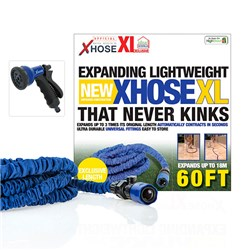 XHose XL 60ft with Adaptor and Spray Nozzle